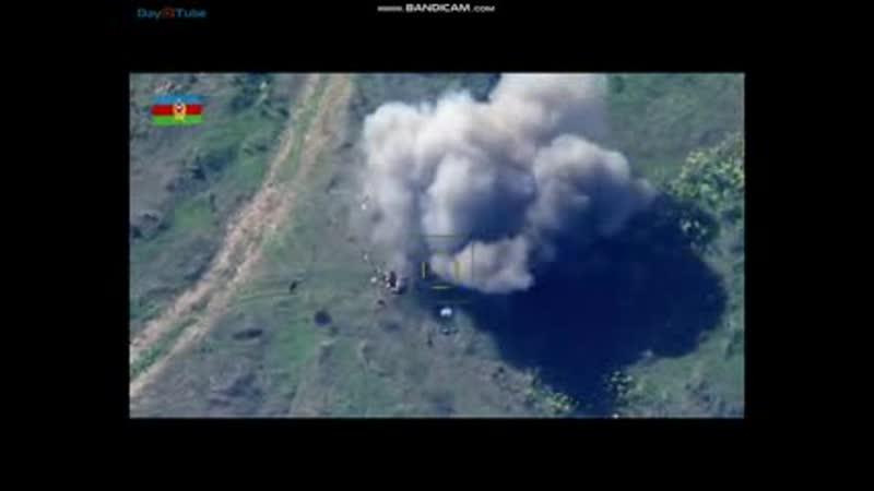 Месть азербайджанской армии за убийство мирных жителей города БардыйБарду