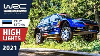 Пятница на ралли Эстония 2021: WRC3