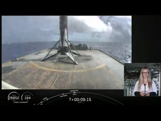 Falcon 9 B1051.7 lands for the seventh time.