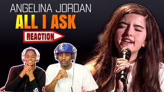 """VOCAL SINGER REACTS TO ANGELINA JORDAN """"ALL I ASK"""" ADELE  COVER  ASIA CRIES...😩😩 #ANGELINAJORDAN"""