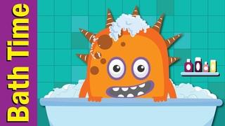 Bath Time Song | Learn Body Parts in English | Fun Kids English