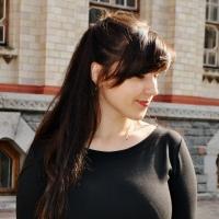 Фотография страницы Елены Дейнеки ВКонтакте
