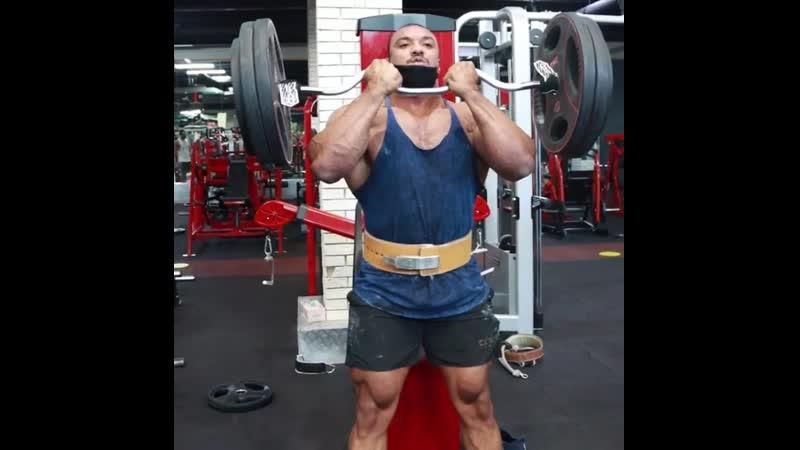 Ларри Уилс строгий подъем на бицепс 105 кг