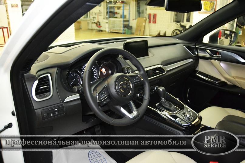 Шумоизоляция Mazda CX-9, изображение №16