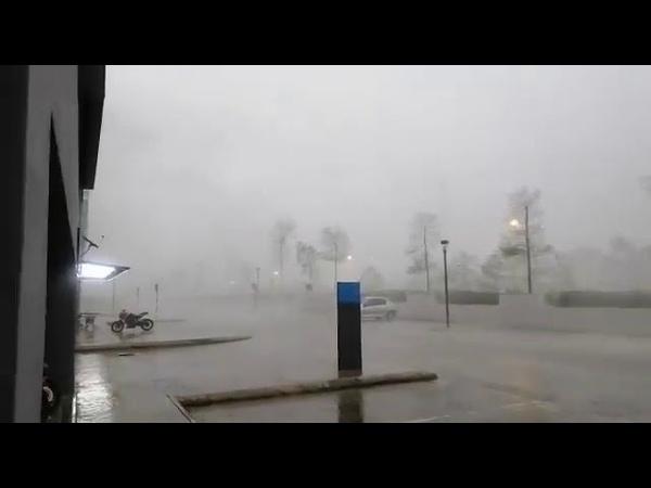 MALAYSIA Severe storm hits Bandar Putra Permai 22 09 2020