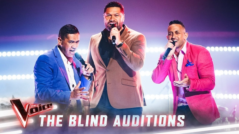 The Blind Auditions The Koi Boys sing 'Shake Your Body' The Voice Australia 2019