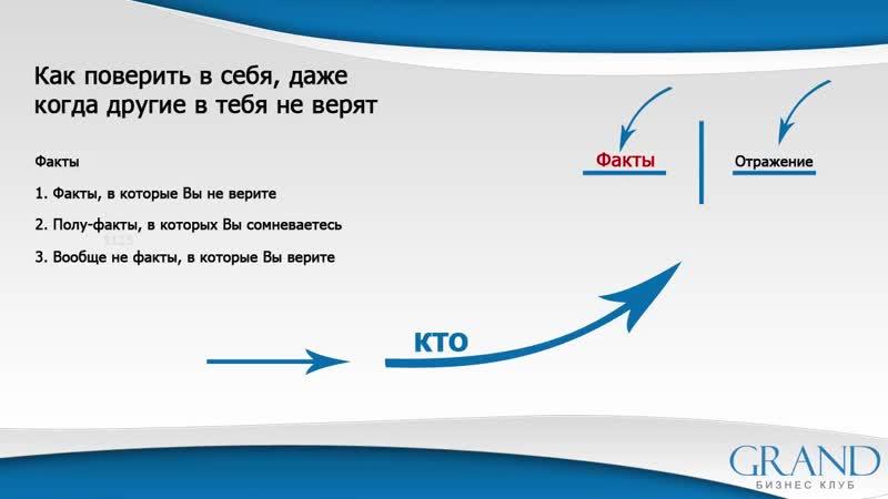 17 - Как поверить в себя, даже когда другие не верят Новосельцев