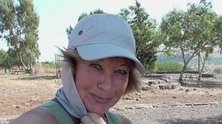 Прогулки по Израилю.  Мой поход из Цфата к реке Иордан- 1 часть