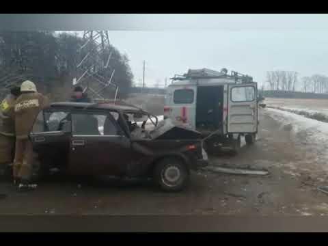 01 12 20 ДТП лоб в лоб столкнулись ВАЗ 2107 и Renault Duster в Башкортостане