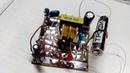 Мигалка на классическом блокинг генераторе с питанием 1.0-1.5 Вольт. На кт315б. Экономичная. Схема