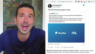 Database formed by Big Tech, Paypal and travel sites, to flag and punish...