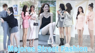 抖音街拍穿搭   Mejores Street Fashion China TikTok   douyin Tiktok China Thời Trang Đường Phố