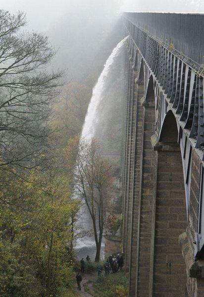 Великобритания. Уэльс. Акведук Понткисиллте, изображение №7