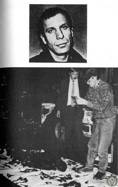 Останки трупа Сергея Ивановича Тимофеева («Сильвестр») - криминального авторитета, главаря-основателя Ореховской ОПГ после взрыва радиоуправляемой бомбы