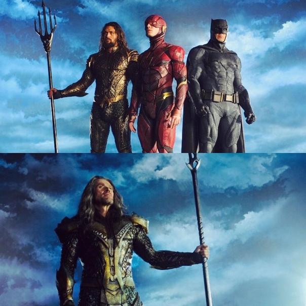 Оператор Фабиан Вагнер поделился фото с примерки костюмов для «Лиги справедливости»