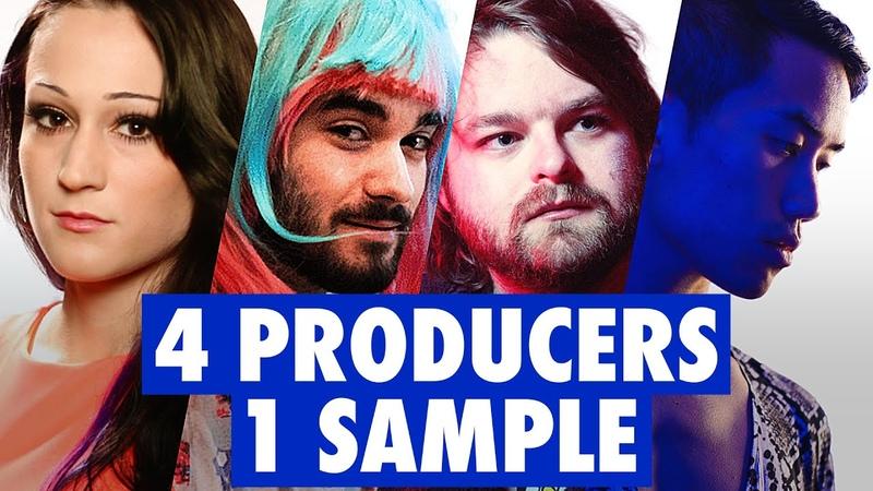 4 PRODUCERS FLIP THE SAME SAMPLE ft Dorian Electra ABSRDST Diveo Neon Vines