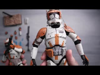 Hot Toys MMS524: Star Wars Episode III Revenge of the Sith - Commander Cody 1/6