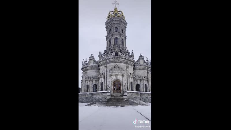 Невероятно красивый храм в Подмосковье