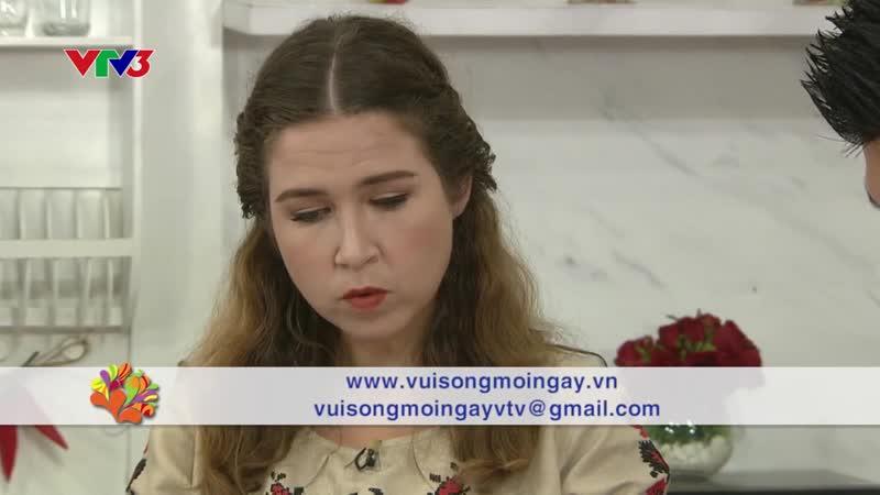 SALAD VINEGRET 12 06 2019 VUI SỐNG MỖI NGÀY VTV3 CHU THỊ TV
