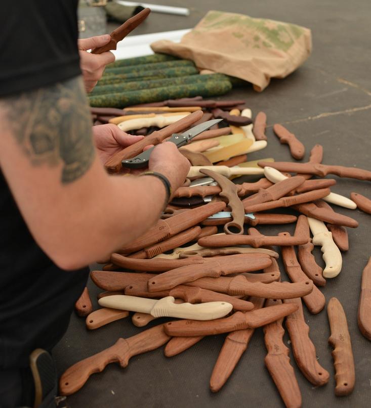 Фестиваль оружейных единоборств Knife party 3, изображение №12