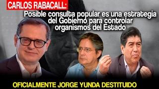 CARLOS RABASCALL: LA CONSULTA POPULAR ES UNA ESTRATEGIA DE LA DERECHA/PEDRO CASTILLO PRESIDENTE 2021