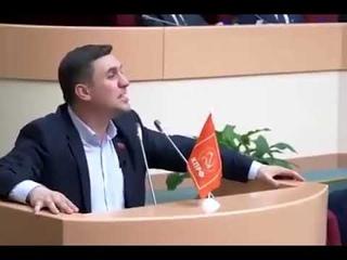 Речь Бондаренко в Саратовской думе.