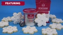 Renshaw Academy Christmas Snowflake Biscuits