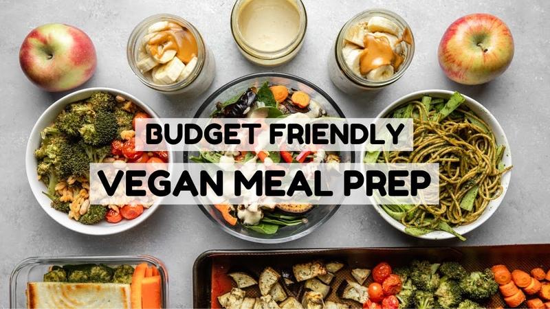 Vegan Meal Prep $3 Meals from Trader Joe's