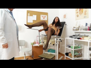 [oldpussyexam] carmelita [medical fetish, gyno exam, stockings, gaping, mature, vaginal enema, milf, pussy closeups, speculum]