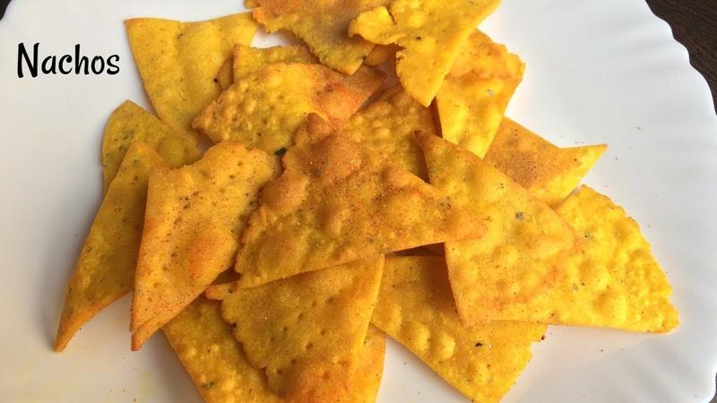 Nacho Chips Recipe Homemade Nachos Corn Chips Indian style nachos