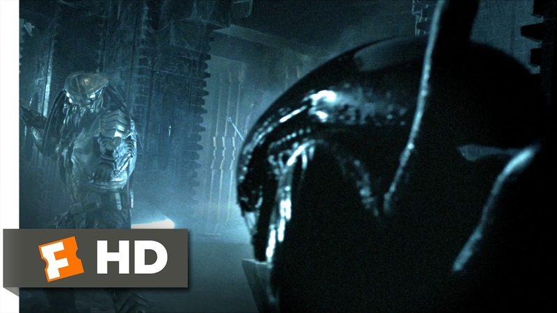 AVP Alien vs. Predator (2004) - Alien vs. Predator Scene (25) | Movieclips
