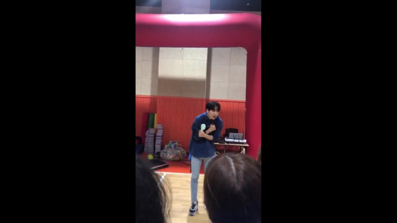 [FANCAM] 180916 100% CHANYONG <Autumn Sports Day> @ Hansung University Indoor Gymnasium