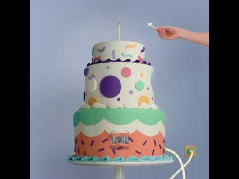 Табрикоти зодрузи аз тарафи сомонаи Facebook Birthday chat by Facebook Празнични
