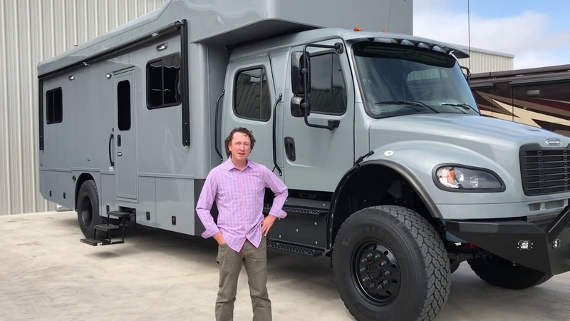 Showhauler Overland Expedition Coach from Performance Motorcoaches