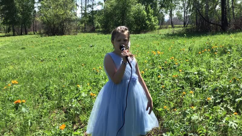 Мясченко Ульяна 7 лет Гном и бабочка