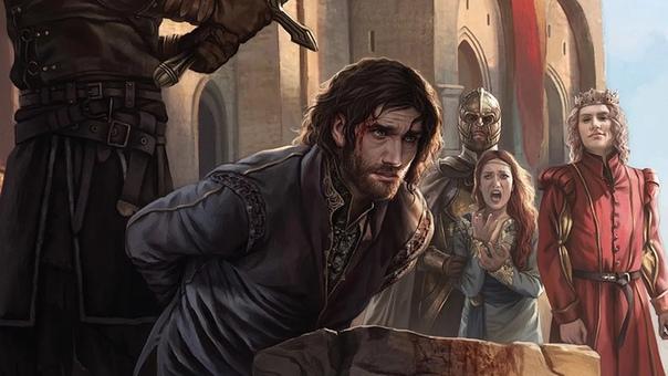 24 года назад был опубликован роман «Игра престолов»