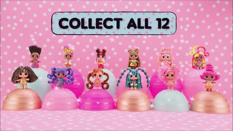 Игровой набор с куклой LOL SURPRISE S6 W1 серии Hairvibes МОДНЫЕ ПРИЧЕСКИ 564744-W1